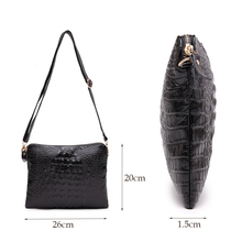 Women's Genuine Leather Alligator Crossbody  MI01