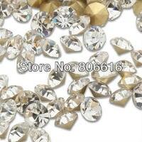SS20 1440Pcs Set 5mm Nail Art Clear Crystal Culet Rhinestones Decorations Jewelry Beads