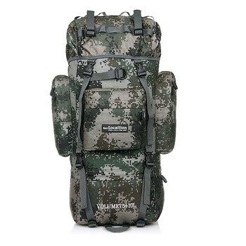 80L Mountain Hiking Backpacks Rucksack Military backpack tactical backpack Multi-function Tear resistant Waterproof Fabric