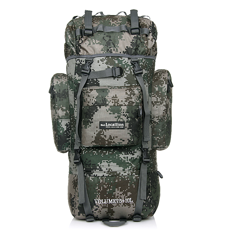 80L montagne randonnée sacs à dos sac à dos militaire sac à dos tactique sac à dos multi-fonction résistant à la déchirure tissu imperméable