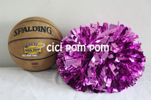 2 pom pom cheerleader pom pom metallic hot pink 1,000*3/4″ wide streamers 6″ sizes