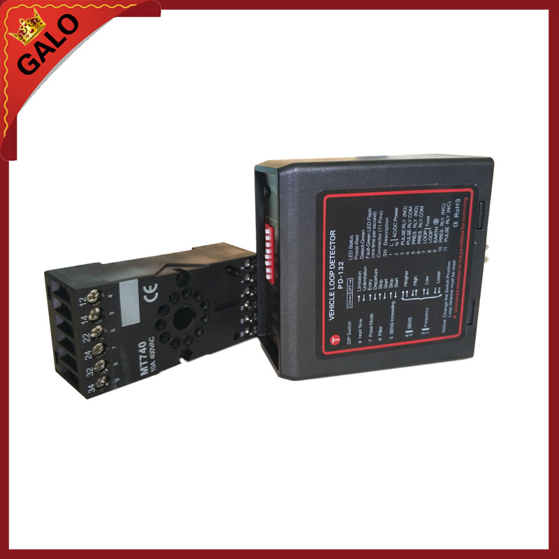 DC12-AC240V Single Channel Vehicle/ Safety Control Loop Detectors For Car Parking System
