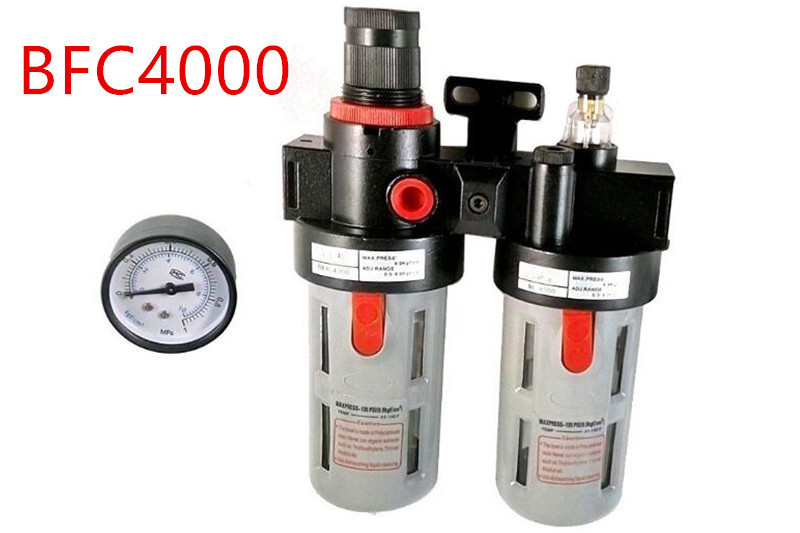 BFC4000 1/2 Air Pressure Regulator oil/Water Separator Filter Air Filter Combination air pressure regulator oil water separator filter airbrush compressor afc2000 bfc3000 bfc4000