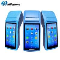 Milestone POS Terminal Printer receipt Touch Screen Bluetooth WIFI GPRS POS Machine USB SIM portable wireless Android MHT M1