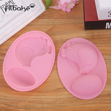 FILBAKE Silicone Fondant Mold Chicken Egg Shape Cake Mould Kitchen DIY Cookie Candy Chocolate Baking Decorating Tools