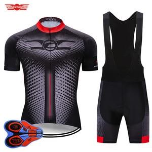 Image 1 - Crossrider 2020新ジャージセットmtb制服バイク服ロパciclismo自転車ウエア服メンズショートマイヨキュロット