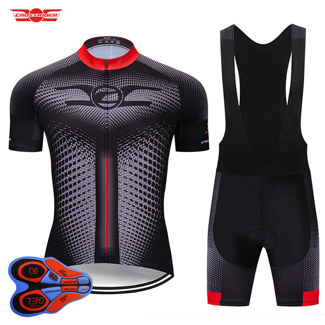 Crossrider 2020新ジャージセットmtb制服バイク服ロパciclismo自転車ウエア服メンズショートマイヨキュロット