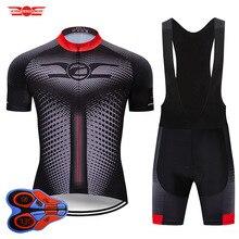 Crossrider 2020 nowy zestaw koszulek rowerowych MTB jednolita odzież rowerowa Ropa Ciclismo odzież rowerowa odzież męska krótki Maillot Culotte