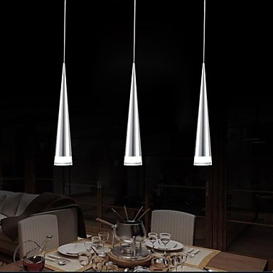 Acrylic Metal Plating Modern LED Pendant Lights Lamp For Home Living Room, Lustres e Pendentes Sala Teto Lamparas