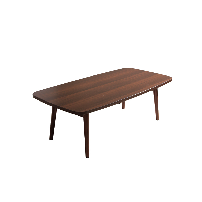 Scandinavian Furniture Small Apartment Minimalist Retro Wood Folding Coffee Table Square A Few Tea Tables Rounded E In Bar From