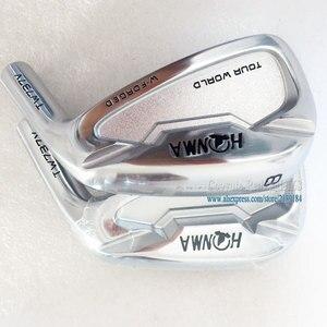 Image 4 - Новые cooyute мужские головки для гольфа HONMA TW737V утюги для гольфа набор 4 910 железные головки без вала для гольфа Бесплатная доставка