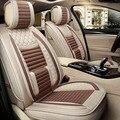 Льняная ткань сиденья пригодный для CHEVROLET KIA OPEL Volvo Форд Опель bmw x5 внутренние аксессуары, сиденье чехлы авто дизайн автомобиля
