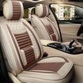 Tela de lino cubierta de asiento de coche de chevrolet kia opel volvo ford opel bmw x5 Interior accesorios fundas de asiento de auto coche stylin