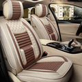 Tessuto di lino Seggiolino Auto Copertura Misura per chevrolet kia opel volvo ford opel bmw x5 Accessori Interni Sedile Coperture auto auto stylin