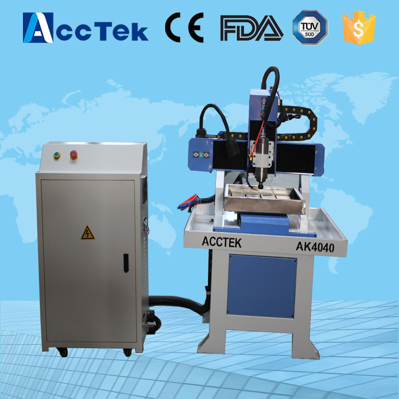 high precision cnc router AK4040 mini milling machine metal aluminum copper mini engraver cnc 5axis a aixs rotary axis t chuck type for cnc router cnc milling machine best quality