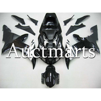 Complete Gloss Black White Fairings Kit For Yamaha YZF1000 R1 Year 2002 2003 ABS Plastic Injection Motorcycle Cowlings 2Gifts