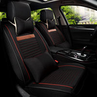Full Surround Design Fiber Hemp Car Seat Cover Overall Protection Cushion For Four Seasons Universal Seat