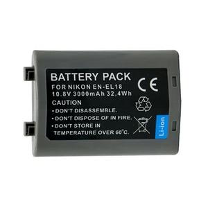 1pc 10.8V 3000mAh EN-EL18 EN EL18 Digital Replacement Camera Battery for Nikon D4 D4S D4X MB-D12 EN-EL18 batteries