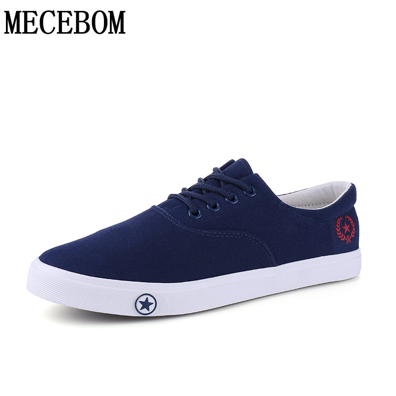 Men's Canvas Shoes hot sale breathable casual shoes for male lace-up vulcanized shoes men flats footwears size 39-44 a507m men s leather shoes vintage style casual shoes comfortable lace up flat shoes men footwears size 39 44 pa005m