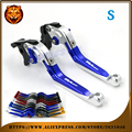 For SUZUKI SV650 SV650S 1999 06 07 08 2009 BLUE Free shipping Adjustable Folding Extendable Brake Clutch Lever Motorcycle
