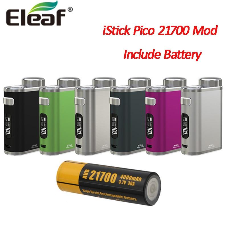 Original Eleaf iStick Pico 21700 MOD 100W iStick Pico BOX MOD Compatible with 21700 18650 Battery