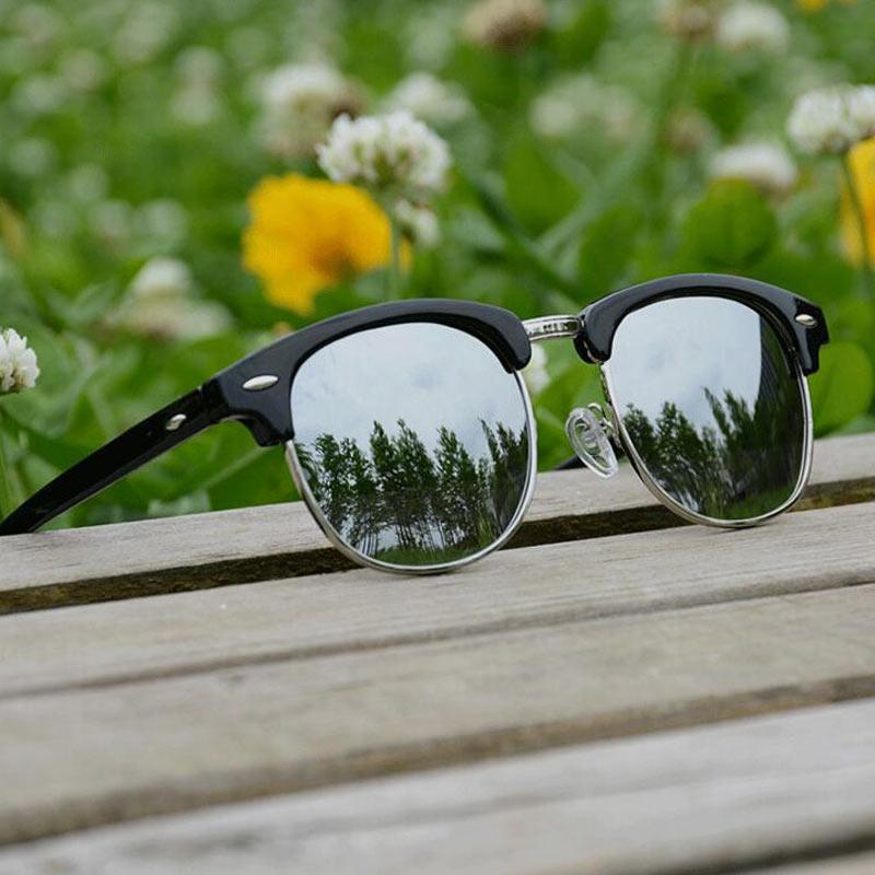 Berühmt Halbrahmen Sonnenbrillen Mens Ideen - Benutzerdefinierte ...