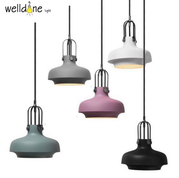 Denmark Copenhagen Suspension Light spectacular light plated metal suspension Fixture for Dinning Room copenhagen
