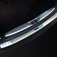 AITWATT Stainless Steel Interior Rear Bumper Trunk Pedal Protective Cover 1pcs Car Styling For Honda HRV HR V Vezel 2014 2016