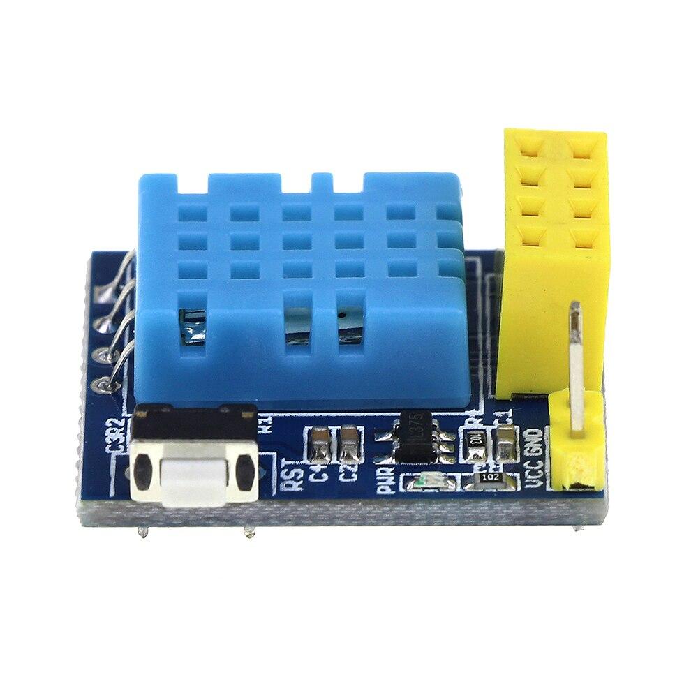 Esp8266 esp-01 esp-01s DHT11 Температура влажность Сенсор модуль esp8266 Wi-Fi nodemcu Умный дом IOT DIY Kit (без ESP модуль)