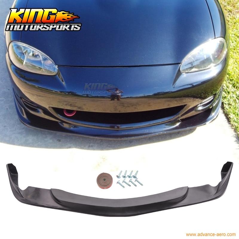 For 01 02 03 04 05 Mazda Miata MX-5 Coupe Convertible Gv Style Front Bumper Lip Spoiler cronus coupe 0 5
