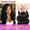 Queen Hair Products Brazilian Body Wave 4 Bundles Brazilian Virgin Hair Body Wave Sexay Hair Brazilian Human Hair Weave Bundles