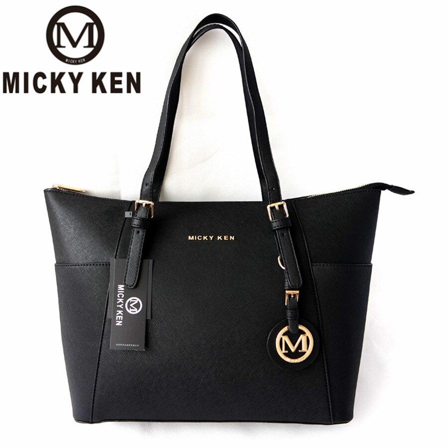 MICKY KEN grande capacité sacs à main de luxe michael même style femmes sacs Designer célèbre marque dame en cuir fourre-tout sac à main