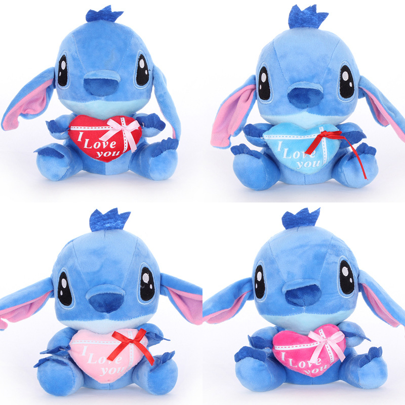 4pcs/lot Cute Stuffed Animals Plush Stitch Plush Doll Toys  Soft Stuffed Animals Toys for Children for Kids Gifts