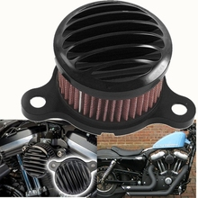 2004-2014 Motorcycle Air Cleaner Intake Filter For Harley Sportster XL883 XL1200 XL 883 1200 Universal auto