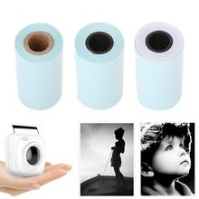 Buy 3 Rolls 57x30mm Self-adhesive Thermal Sticker Printing Paper for Paperang P1 Mini Photo Printer Accessories directly from merchant!