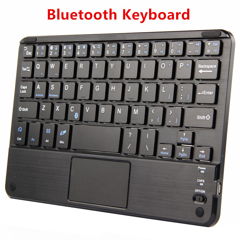 Bluetooth Keyboard For Huawei MediaPad T3 7 8 Tablet PC T1 7.0 T2 7.0 Pro T27.0 Case Wireless keyboard Android Windows Touch Pad bluetooth keyboard for lenovo miix 300 10 8 miix 310 320 tablet pc wireless keyboard miix 4 5 pro miix 700 miix 510 720 case