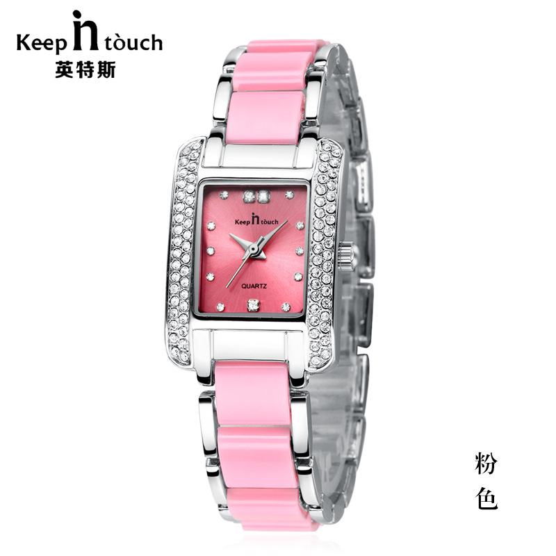 Watch Women brand luxury Fashion Casual quartz ceramic watches Lady relojes mujer women wristwatches Girl Dress clock 	K8453 relojes mujer 2016 fashion luxury brand quartz men women casual watch dress watches women rhinestone japanese style quartz watch