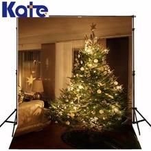 christmas backdrops The Christmas tree sitting room window 5x7ft(1.5×2.2m) backdrop ZJ
