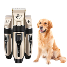 Professional Pet Dog Hair Trimmer Animal Grooming Clippers Cat Cutter Machine Shaver Electric Scissor Clippe Kit