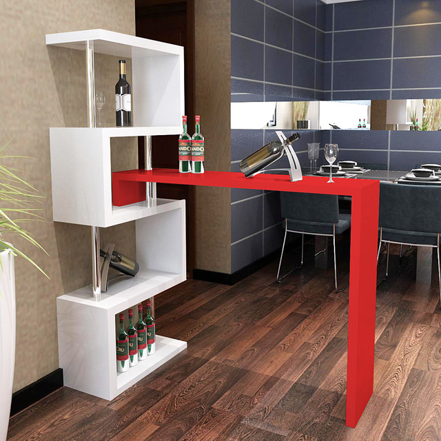 bar tables bar home off the living room wall cabinet wine table rotation in bar tables from. Black Bedroom Furniture Sets. Home Design Ideas