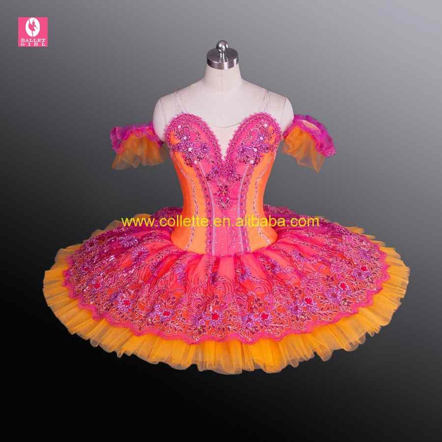 New !!!! BLY1169!!! Girl's Orange ballet professional