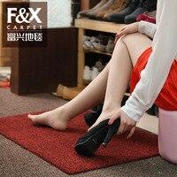 Fu xing carpet shoes blanket nylon hall floor mats entranceway carpet doormat