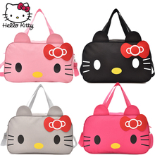Hello Kitty Cute Cartoon Bag hellokitty Fashion Girls Woman Hand Bags Lovely Girls Shopping Bag Portable Children Plush Backpack подвеска hello kitty hnl1704chc hellokitty