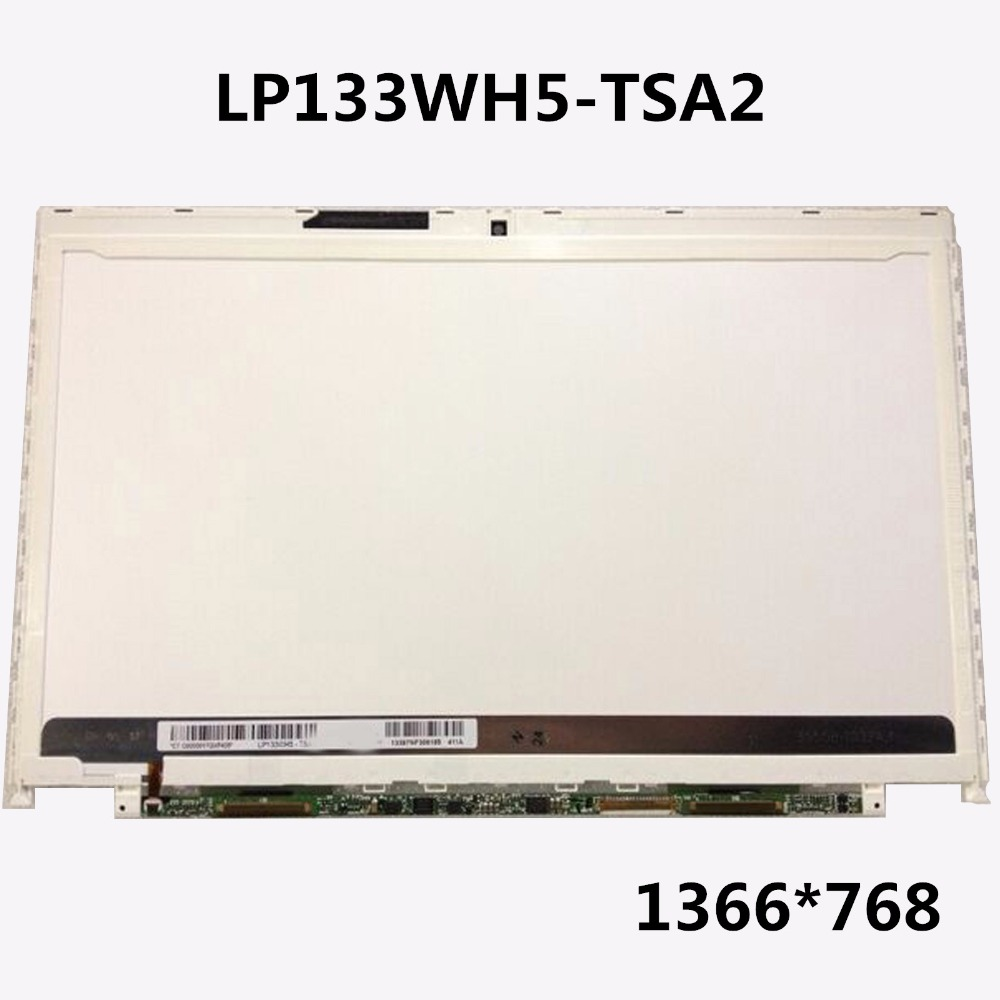 By DHL/EMS Brand new For Fujitsu FMVS54KWG LP133WH5-TSA2 LP133WH5 TSA3 LCD Screen 13.3 LED Panel Screen Display 1366*768 dhl ems 5 new for pro face touchscreen glass agp3300 l1 d24 f4