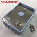 Intercomunicador de Audio envío gratis GSM para puerta de una sola casa y controlador de acceso de puerta DC12V entrada de alimentación