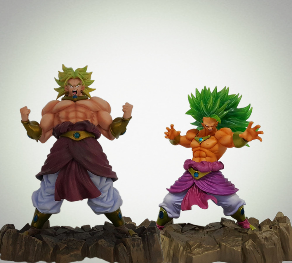Dragon Ball Z Broly Super Saiyan 170mm Anime Dragon Ball Model Toy PVC Action Figures Esferas Del Dragon Son Goku dragon ball z son goku vs broly super saiyan pvc action figures dragon ball z anime collectible model toy set dbz