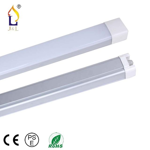 US $312 4 |4pcs/lot led Tri proof light ip65 waterproof dustproof led  linear light LED batten light 4ft 60W/5ft 80W led tri proof light-in LED  Bulbs &