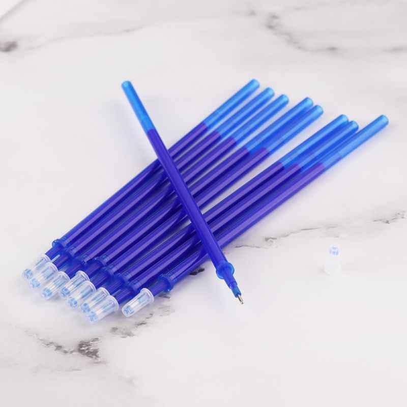 1 مجموعة الأزرق والأبيض الخزف 0.5 مللي متر طالب محايد قابل للمسح عبوة مجموعة زائد المطاط قابل للمسح عبوة بوتيك الإبداعية هدية ستات