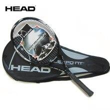 Оригинальная Теннисная ракетка для начинающих, супер светильник, углеродное волокно, материал для мужчин, подходит для игры в теннис и тренировок