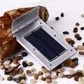 Segunda geração 16 conduziu a lâmpada de luz de poupança de energia à prova d' água de segurança ao ar livre luz solar motion sensor de luz de parede luzes de natal